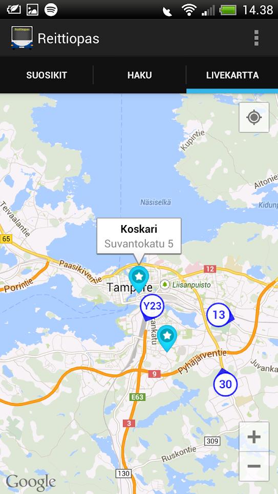 Tampereen kaupungin dataportaali – Avointa dataa Tampereelta